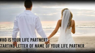 Who is your life partner? Starting letter of name of Your Life Partner