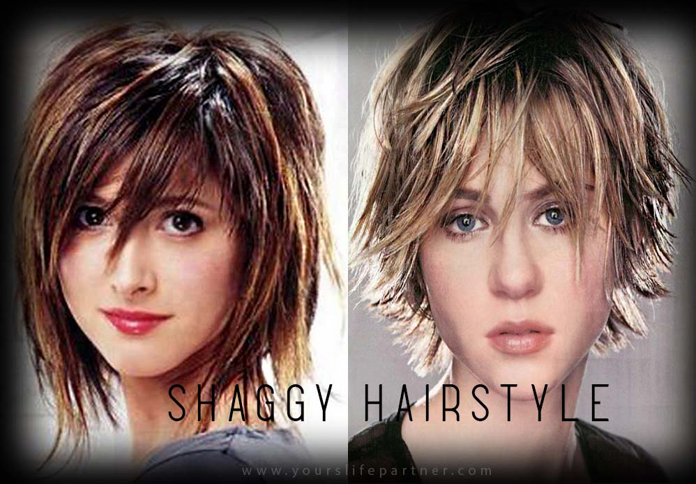 Shaggy Hairstyle
